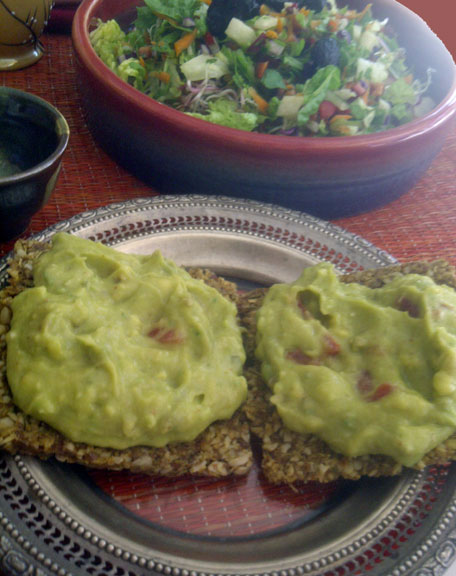 guacamole-crackers