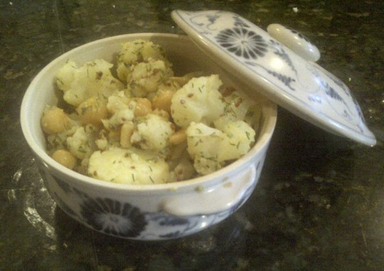 Cauliflower-Chickpeas-Dill-2