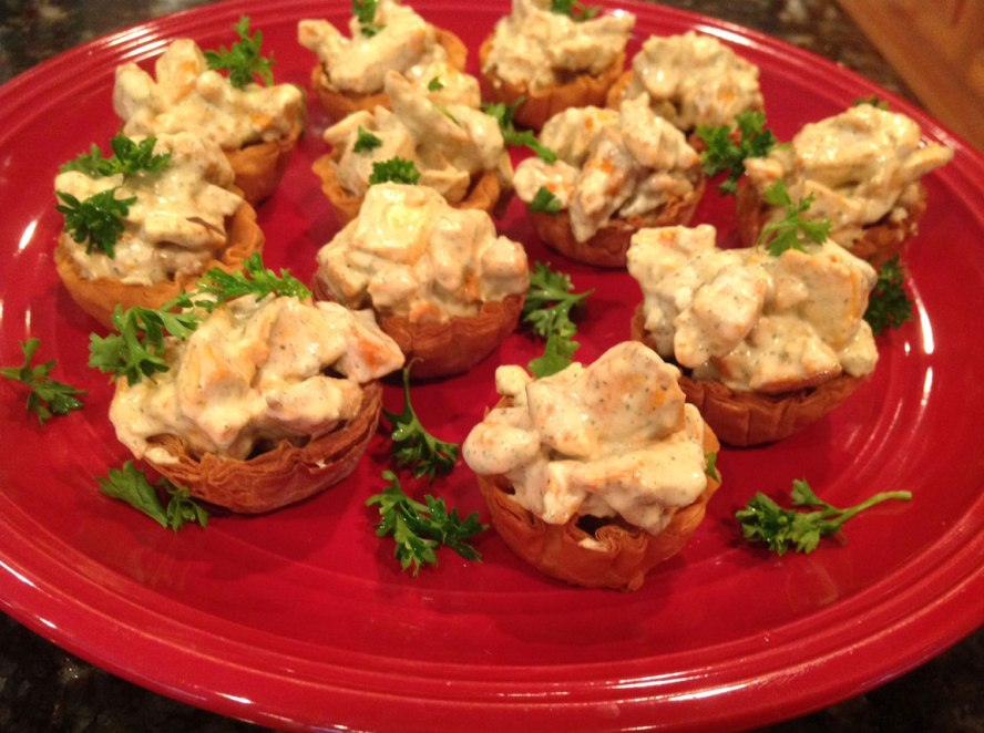 Buffalo-tofu-salad-cups