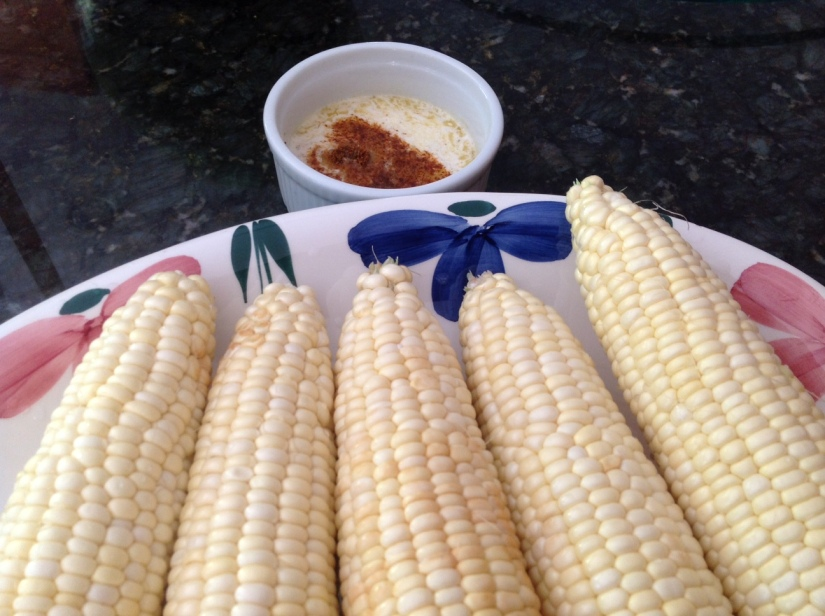 Chipotle Lemon Grilled Corn on the Cob