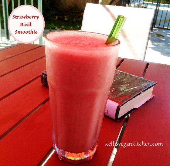 Strawberry-Basil-Smoothie