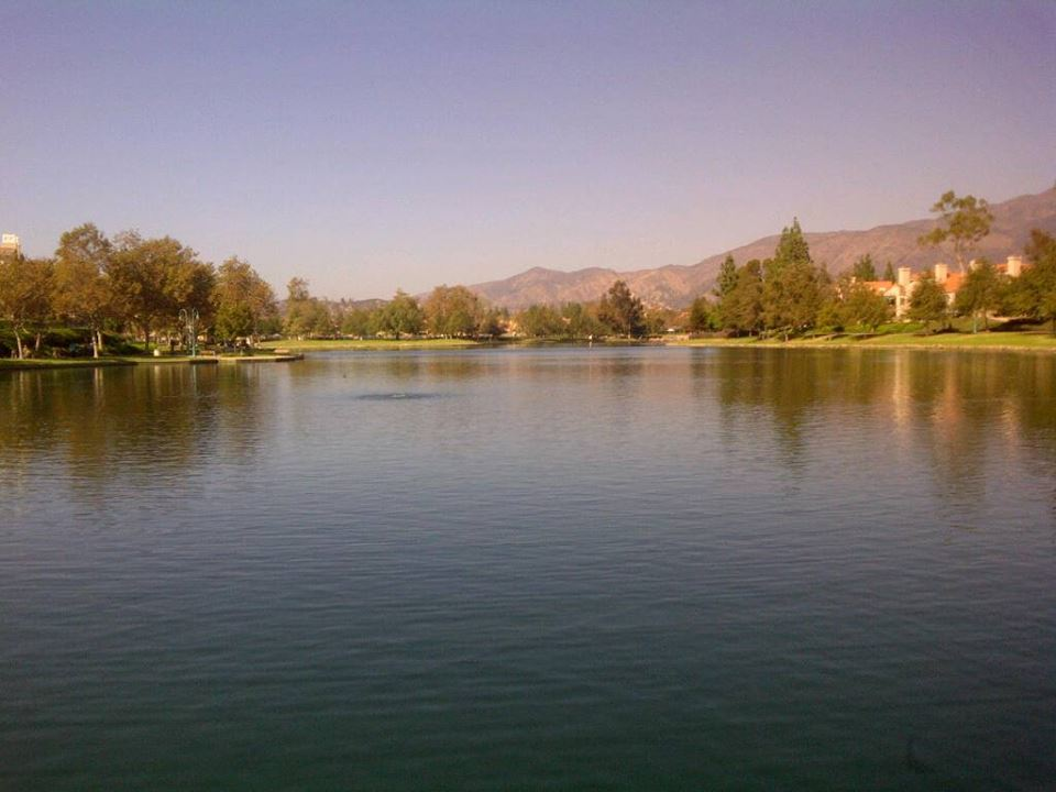 Lake in Rancho Santa Margarita, CA