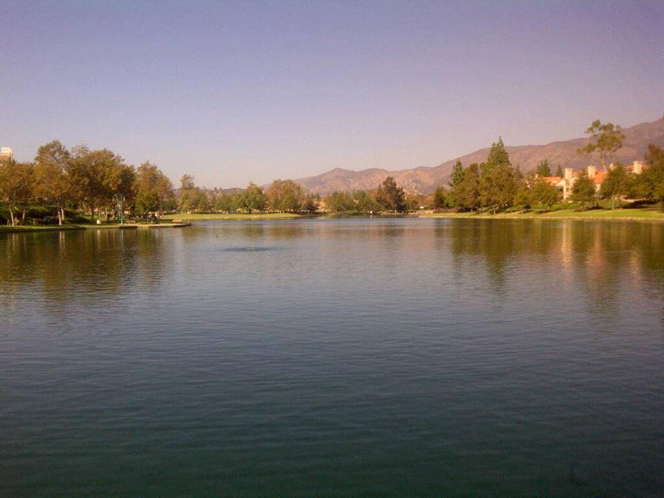 Lake in Rancho Santa Margarita, CA