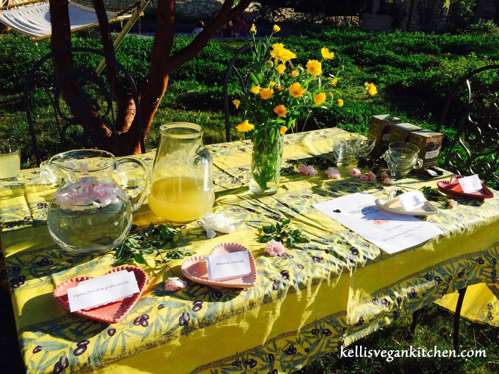 Vegan Baby Shower ~ Drinks