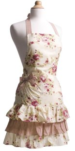 Venetian Rose Flirty Apron