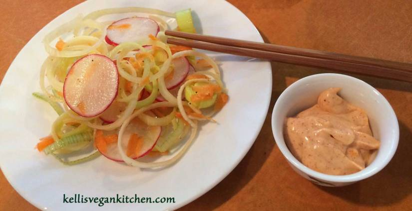 Leek-Radish-Salad-Smoked-Paprika-Aioli