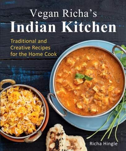 Vegan Richas Indian Kitchen-Front-cover