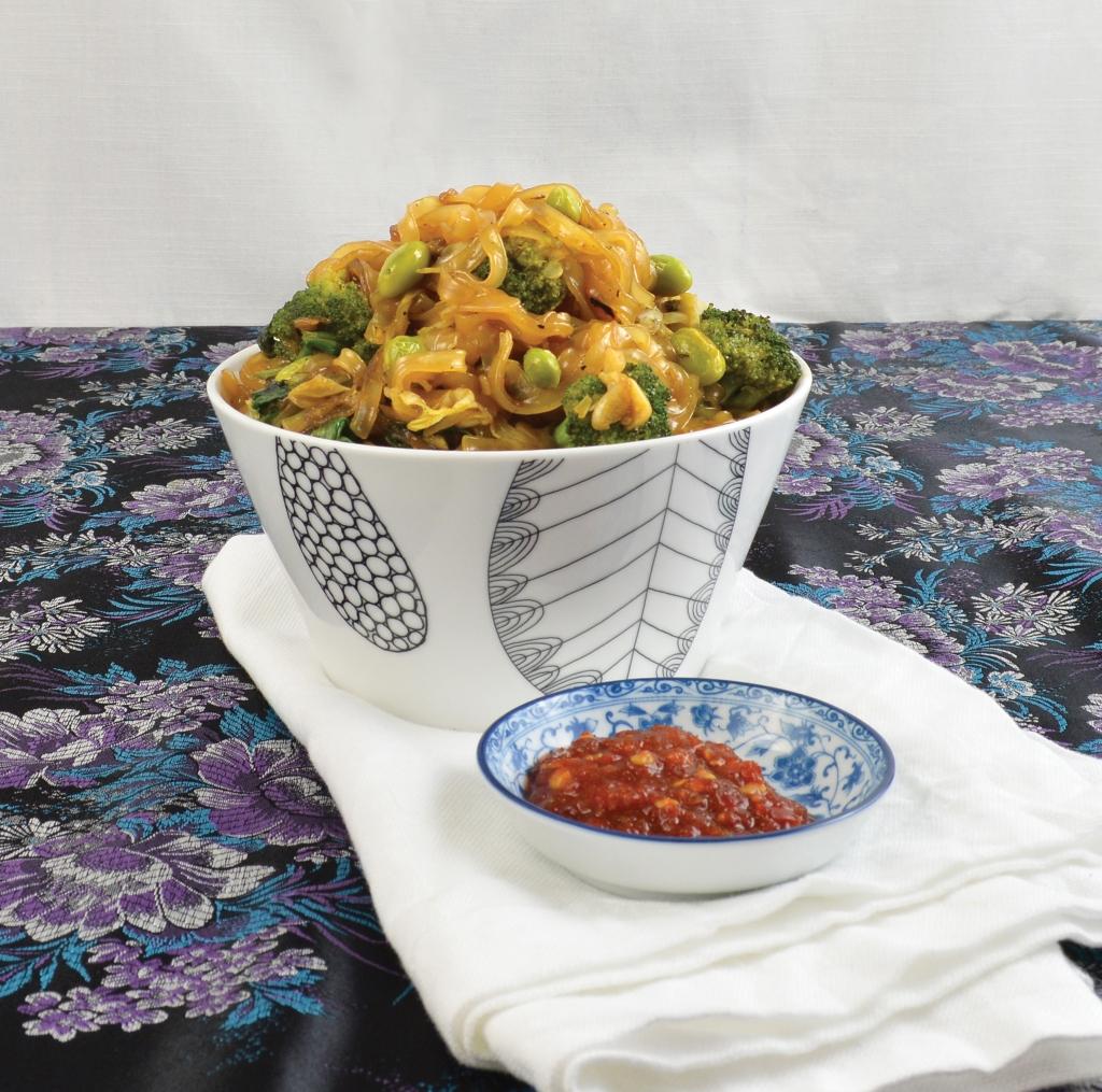 Indonesian Stir Fry Noodle Bowl