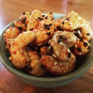 sesame-cashews